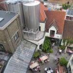 На крыше пивоварни