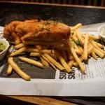 Знаменитое блюдо fish & Chips
