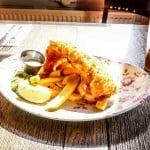 Знаменитое блюдо fish&chips