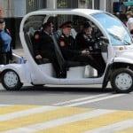 Такой интересный транспорт у полиционеров