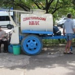 В Севастополе - порой попроще, прямо ностальгия по ссср