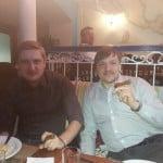 Мы с Евгением Саковичем